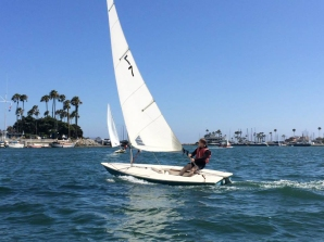Our club has nearly a dozen Laser class boats that will quickly turn you into a better sailor.