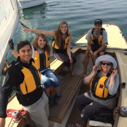 CSULB President Jane Close Conoley is a big fan of our sailing club.