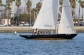 Our 1960s Shields-class keelboats are some of the prettiest yachts you'll see in Alamitos Bay.