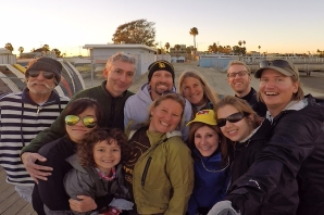 Group photo after 2015's Boxing Day race.
